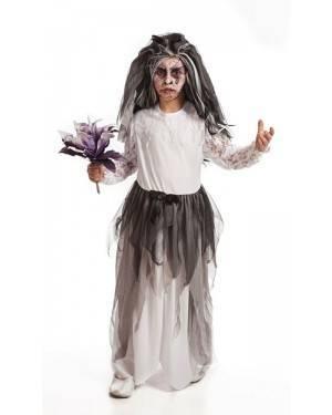 Costume da Sposa Cadavere Bambina per Carnevale | La Casa di Carnevale