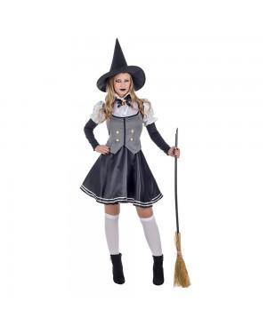 Costume da Strega Grey Donna per Carnevale | La Casa di Carnevale