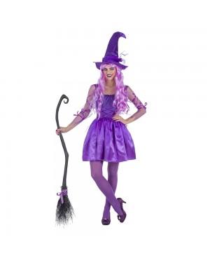 Costume da Strega Lila Donna per Carnevale | La Casa di Carnevale