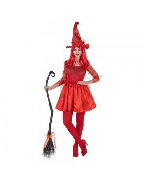 Costume da Strega Rossa Donna per Carnevale | La Casa di Carnevale