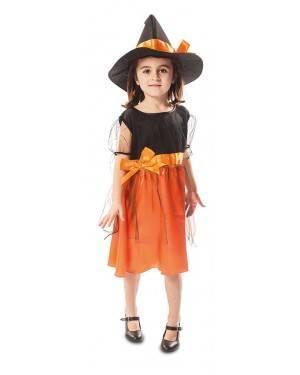 Costume da Streghetta Arancione