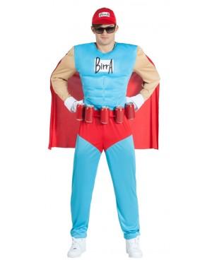 Costume da Supereroe Muscoloso per Carnevale | La Casa di Carnevale