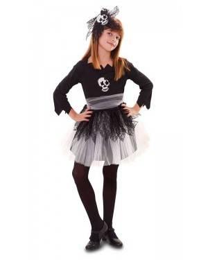 Costume Teschio Bimba Halloween