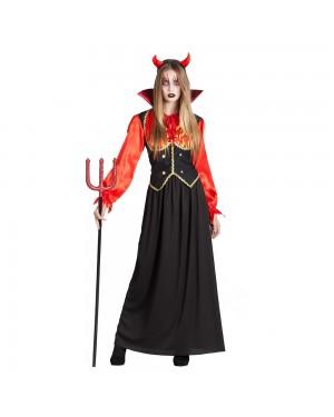 Costume da Vampira Fuoco Donna per Carnevale | La Casa di Carnevale