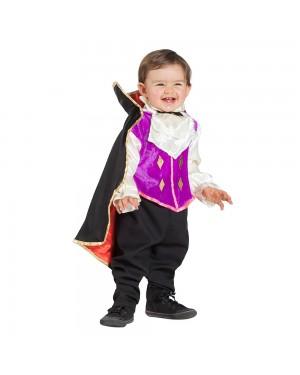 Costume da Vampiro con Mantello Bimbo per Carnevale | La Casa di Carnevale