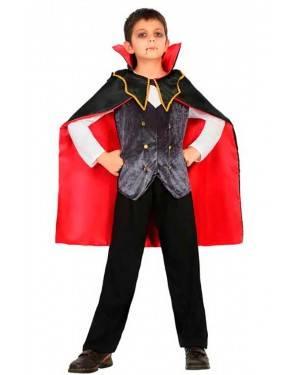 Costume da Vampiro Pipistrello 5-6 Anni per Carnevale