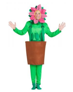 Costume da Vaso con Girasole per Carnevale | La Casa di Carnevale