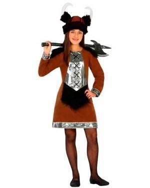 Costume Vichinga 7-9 Anni