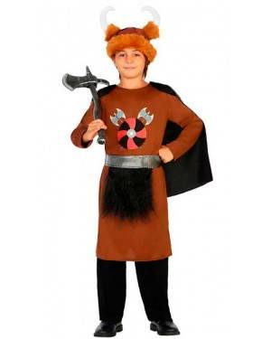Costume Vichingo 7-9 Anni