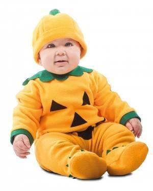 Costume da Zucca Bebé