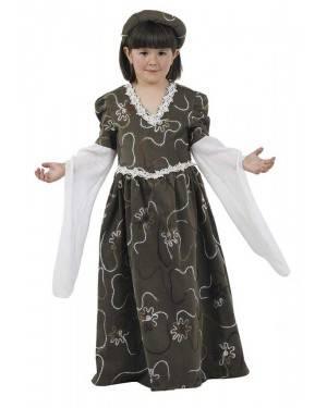 Costume da Dama Medievale Bambino per Carnevale | La Casa di Carnevale