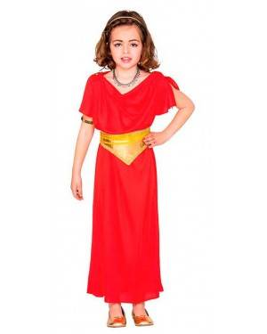 Costume Dama Romana 4-6 Anni