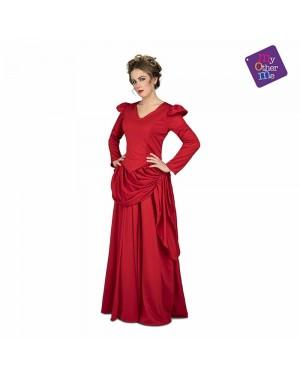 Costume Dama Rossa West M/L per Carnevale | La Casa di Carnevale