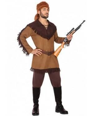 Costume Daniel Boone Adulto per Carnevale | La Casa di Carnevale