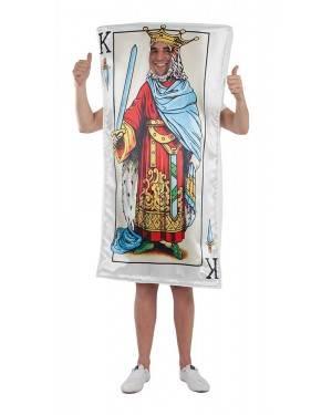 Costume del Re delle Carte Adulto XL