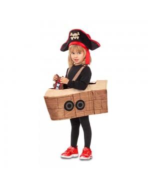 Costume della Nave Pirata 5-6 Anni per Carnevale | La Casa di Carnevale