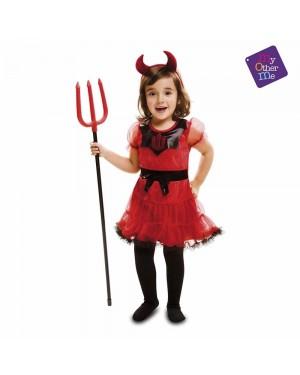 Costume Demonietta Bambina per Carnevale | La Casa di Carnevale