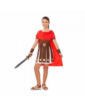 Costume di Guerriera Romana Bambina per Carnevale   La Casa di Carnevale