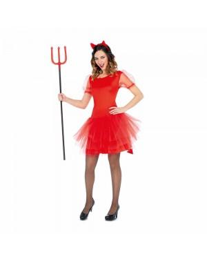 Costume Diavolessa Tutu M/L per Carnevale | La Casa di Carnevale