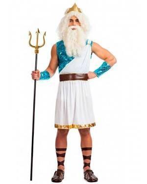 Costume Dio di Mare Neptuno Tg. M/L