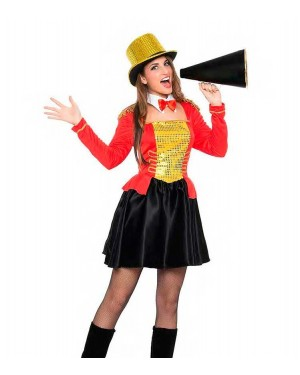 Costume Domatore Donna Taglia M-L per Carnevale