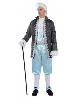 Costume da Duca Uomo Celeste per Carnevale | La Casa di Carnevale