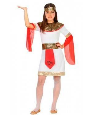 Costume Egiziana 7-9 Anni per Carnevale