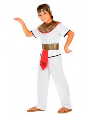 Costume Egiziano 3-4 Anni per Carnevale