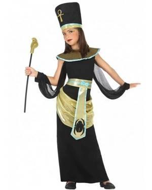 Costume Egiziano Dorato Bambina per Carnevale | La Casa di Carnevale