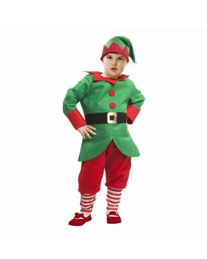 Costume Elfo Natale Bambini per Carnevale | La Casa di Carnevale