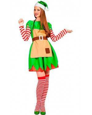 Costume Elfo Natale Donna Tg. XL