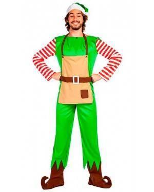 Costume Elfo Natale Tg. XL