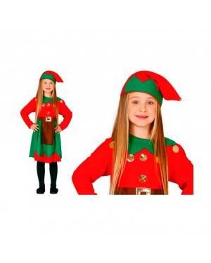 Costume Elfo Rossa Bambina