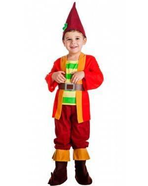 Costume Elfo Rosso Tg. 10-12 Anni