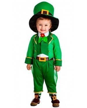 Costume Elfo Verde Tg. 7-9 Anni