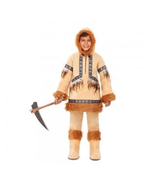 Costume Eschimese Bambino per Carnevale | La Casa di Carnevale