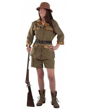 Costume da Esploratrice Safari Adulto