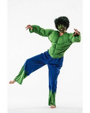 Costume Forzuto Verde Taglia 3 a 5 Anni per Carnevale | La Casa di Carnevale