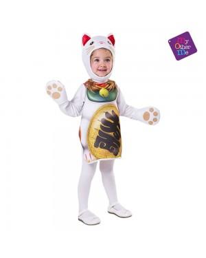 Costume Gatto Fortunato Cinese Bambini per Carnevale | La Casa di Carnevale