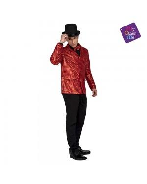Costume Giacca e Farfallino Showman Rosso M/L  per Carnevale | La Casa di Carnevale