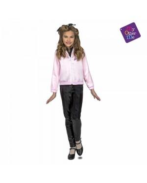 Costume Giacca Pink Lady Bambina per Carnevale | La Casa di Carnevale