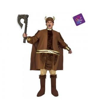 Costume Grasso Vichingo M/L per Carnevale | La Casa di Carnevale