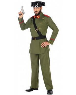 Costume Guardia Civile Uomo per Carnevale | La Casa di Carnevale