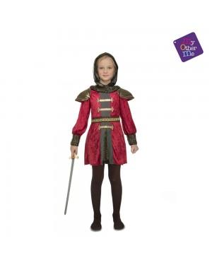 Costume Guerriera Medievale Bambina per Carnevale   La Casa di Carnevale