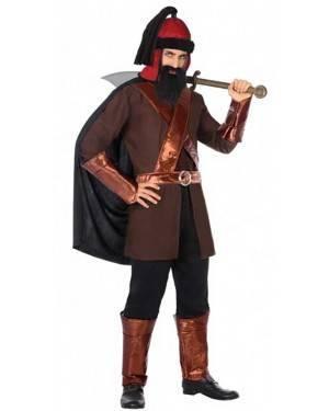 Costume Guerriero Mongolo Adulto per Carnevale | La Casa di Carnevale