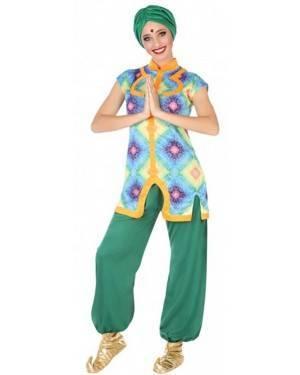 Costume Hindu Verde Donna per Carnevale | La Casa di Carnevale