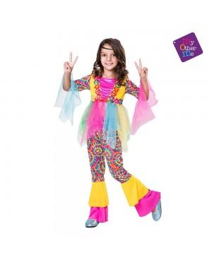 Costume Hippie Bambina per Carnevale | La Casa di Carnevale