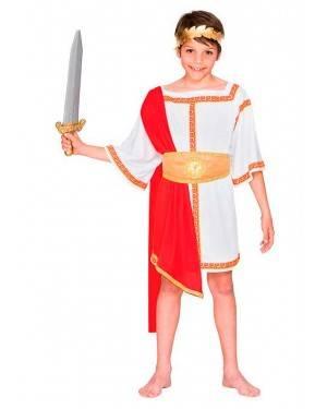 Costume Imperatore Romano 10-12 Anni