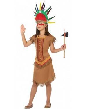 Costume Indiana Apache Bambine per Carnevale | La Casa di Carnevale