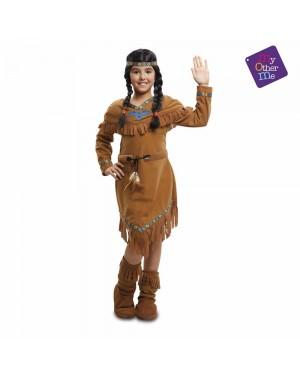 Costume Indiana Bambina per Carnevale | La Casa di Carnevale